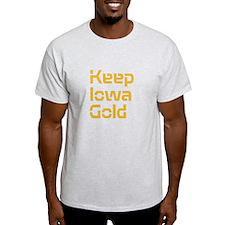 Keep Iowa Gold T-Shirt