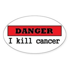 Cancer Fighter Decal