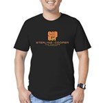 SC&P Mad Men Logo Men's Fitted T-Shirt (dark)