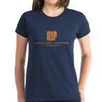 SC&P Mad Men Logo Women's Dark T-Shirt