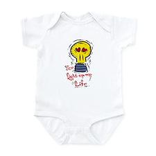 You light up my life Infant Bodysuit