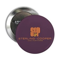 "Sterling Cooper & Partners Logo 2.25"" Button"