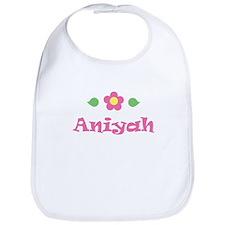 "Pink Daisy - ""Aniyah"" Bib"