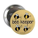 "Bee Keeper 2.25"" Button (10 pack)"