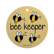 Bee Keeper Ornament (Round)