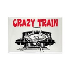 CRAZY TRAIN Rectangle Magnet (10 pack)