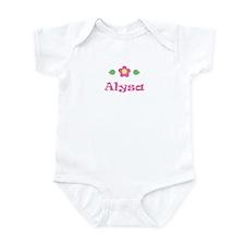 """Pink Daisy - """"Alysa"""" Onesie"""