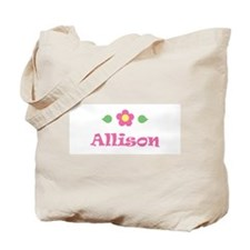 "Pink Daisy - ""Allison"" Tote Bag"