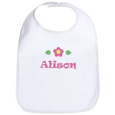 "Pink Daisy - ""Alison"" Bib"