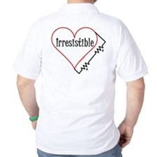 Irresistible Engineer (Back) T-Shirt