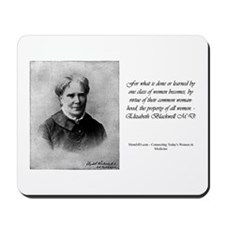 Mousepad - Elizabeth Blackwell, MD