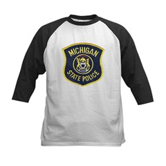 Michigan State Police Kids Baseball Jersey
