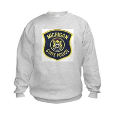 Michigan State Police Kids Sweatshirt