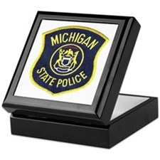 Michigan State Police Keepsake Box