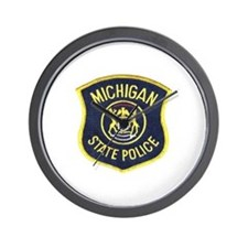 Michigan State Police Wall Clock