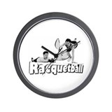 Brian &amp; Joe's Racquetball Clu Wall Clock