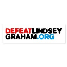 DefeatLindseyGraham.org Bumper Sticker