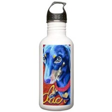 Dachshund Pastel Water Bottle