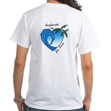 Joe Bark Surfboards White Shirt