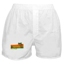 Cute Laguna beach california Boxer Shorts
