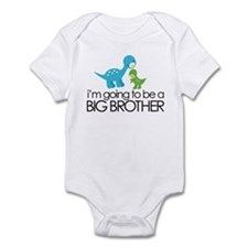 i'm going to be a big brother dinosaur Onesie