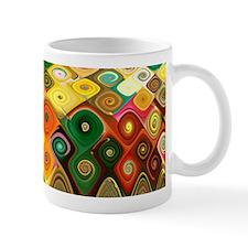 """""""Cascade 5"""" Fractal Art Mug"""