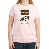 Brown Cow Women's Pink T-Shirt