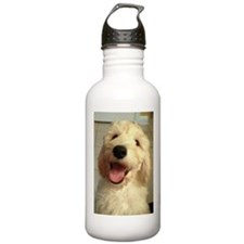 Happy Goldendoodle Water Bottle