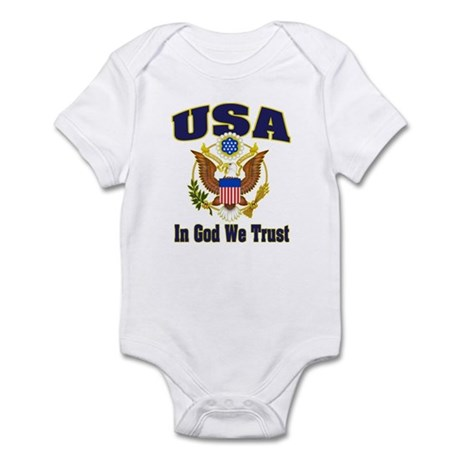 USA - In God We Trust Infant Bodysuit