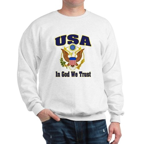USA - In God We Trust Sweatshirt