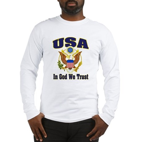 USA - In God We Trust Long Sleeve T-Shirt
