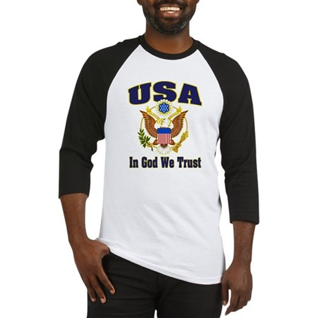 USA - In God We Trust Baseball Jersey