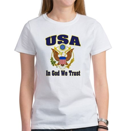 USA - In God We Trust Women's T-Shirt