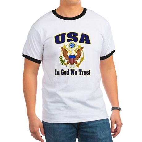 USA - In God We Trust Ringer T