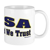USA - In God We Trust Small Mug