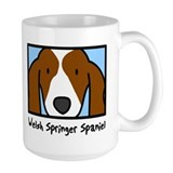 Anime Welsh Springer Spaniel Mug