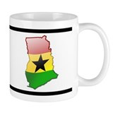 """Ghana Bubble Map"" Mug"
