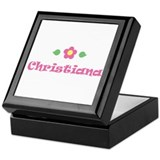 Pink Daisy - &quot;Christiana&quot; Keepsake Box