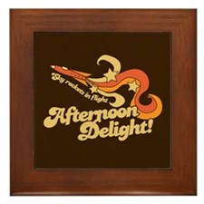 Afternoon Delight Framed Tile