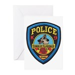 Florence PD Canine Greeting Cards (Pk of 10)