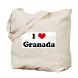 I Love Granada Tote Bag
