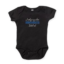 I only Cry Democrats Baby Bodysuit