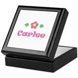 Pink Daisy - &quot;Carlee&quot; Keepsake Box