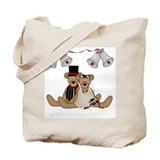 Teddy Bear Wedding Tote Bag