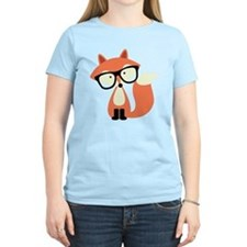 Hipster Red Fox T-Shirt