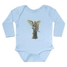 Angel Michael Long Sleeve Infant Bodysuit