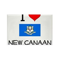 I Love New Canaan Connecticut Magnets