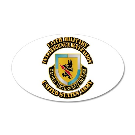 DUI - 134th Military Intelligence Bn w Text 20x12