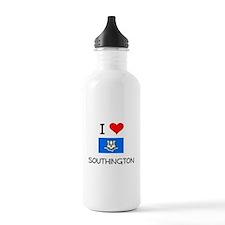 I Love Southington Connecticut Water Bottle