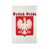 Polish Pride Eagle Rectangle Magnet